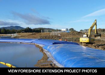 EXTENDING THE FORESHORE